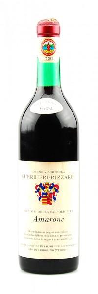 Wein 1972 Amarone Agricola Guerrieri-Rizzardi