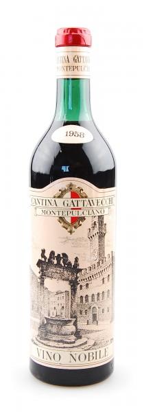Wein 1958 Vino Nobile di Montepulciano Gattavecchi
