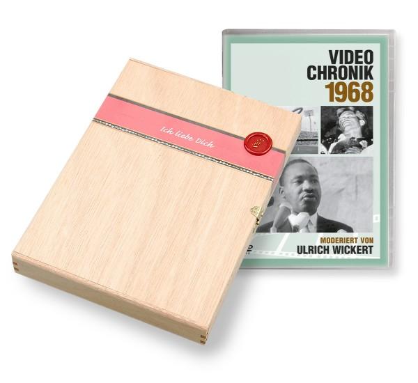 DVD 1968 Chronik Deutsche Wochenschau in Holzkiste
