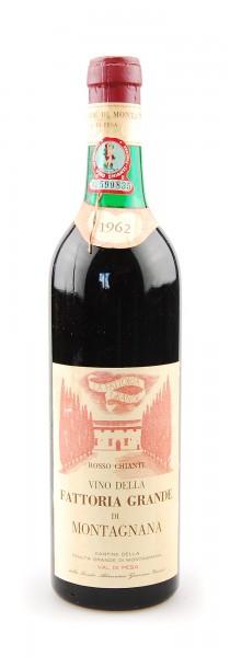 Wein 1962 Chianti Fattoria Grande di Montagnana