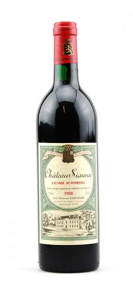 Wein 1988 Chateau Siaurac Lalande de Pomerol