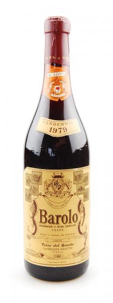 Wein 1979 Barolo Terre del Barolo