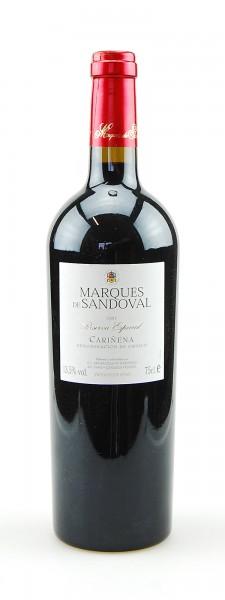 Wein 1997 Marques de Sandoval Reserva Especial