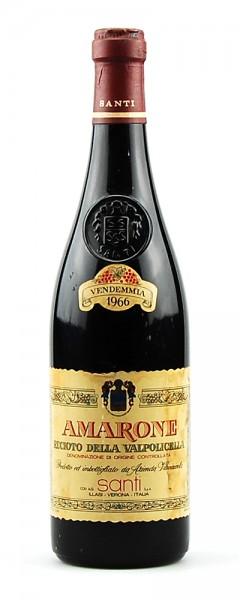 Wein 1966 Amarone Recioto della Valpolicella Santi