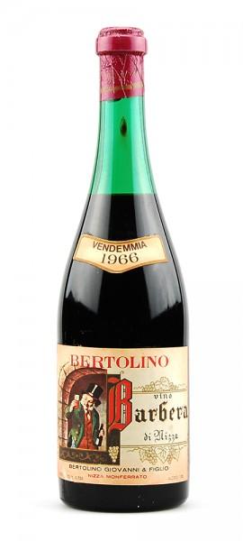 Wein 1966 Barbera di Nizza Bertolino Monferrato