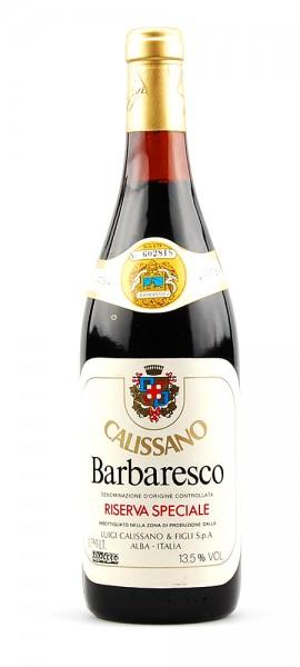 Wein 1976 Barbaresco Calissano Riserva Speciale