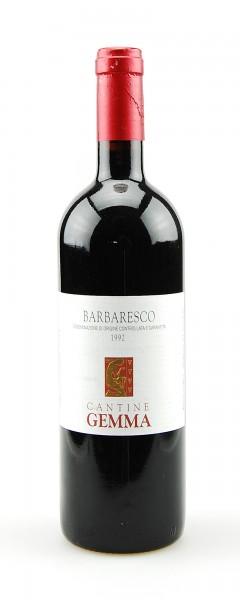 Wein 1992 Barbaresco Cantine Gemma