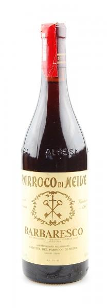 Wein 1987 Barbaresco Parroco di Neive