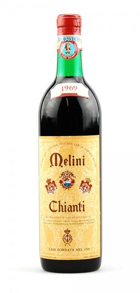 Wein 1969 Chianti Melini Pontassieve