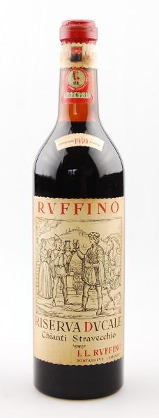 Wein 1959 Chianti Classico Ruffino Riserva Ducale