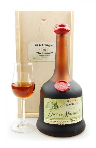 Armagnac 1953 Armagnac Duc de Maravat
