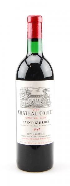 Wein 1967 Chateau Coutet Grand Cru Classe St.Emilion