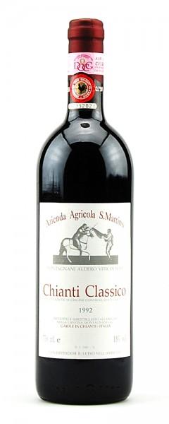 Wein 1992 Chianti Classico Azienda Agricola S. Martino