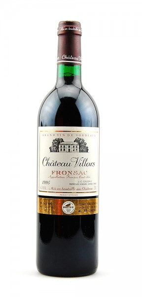 Wein 1995 Chateau Villars Fronsac