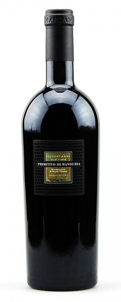 Wein 2012 Primitivo di Manduria Sessantanni
