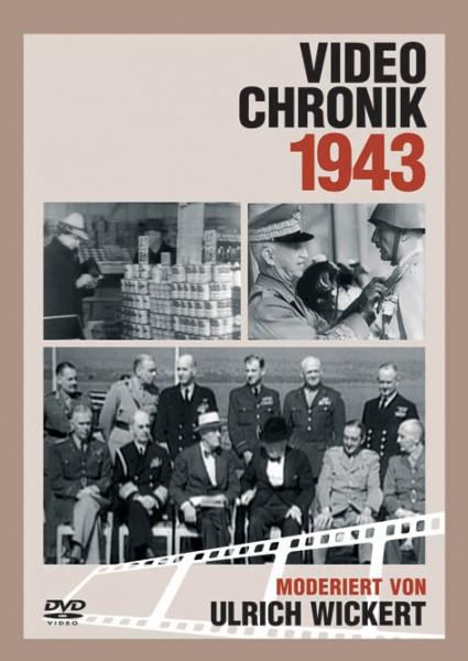 DVD 1943 Chronik Deutsche Wochenschau in Holzkiste
