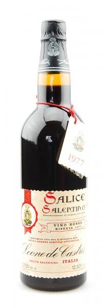 Wein 1977 Salice Leone de Castris Riserva Salentino