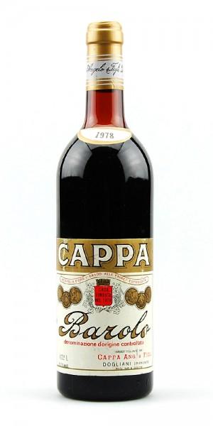 Wein 1978 Barolo Angelo Cappa