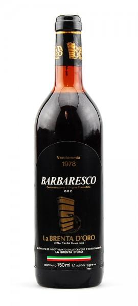 Wein 1978 Barbaresco La Brenta d-Oro