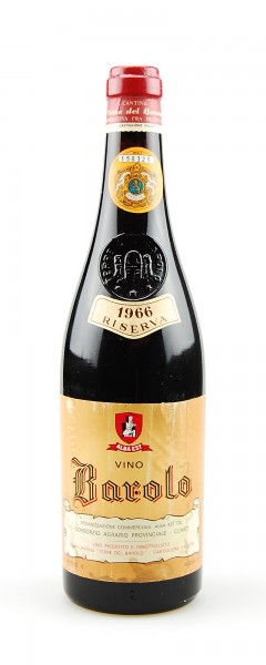 Wein 1966 Barolo Terre del Barolo Riserva