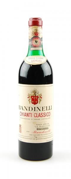 Wein 1966 Chianti Classico Bandinelli Massucce Riserva