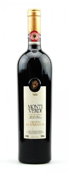 Wein 1988 Vigneto Le Borranine Monti Verdi