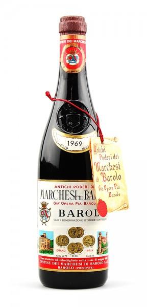 Wein 1969 Barolo Marchesi di Barolo