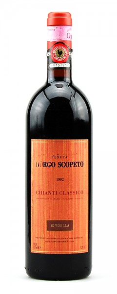 Wein 1992 Chianti Classico Tenuta Borgo Scopeto