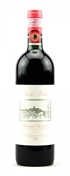 Wein 1992 Chianti Classico Vicchiomaggio Paola Matta