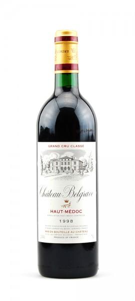 Wein 1998 Chateau Belgrave 5eme Cru Classe