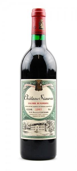 Wein 1995 Chateau Siaurac Lalande de Pomerol
