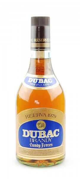 Brandy 1979 Dubac Riserva Landy Freres
