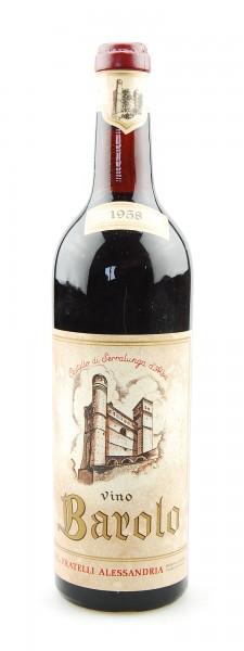 Wein 1958 Barolo Alessandria