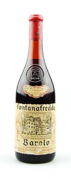 Wein 1957 Barolo Fontanafredda
