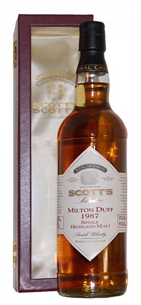 Whisky 1987 Milton Duff Single Highland Malt Scotch