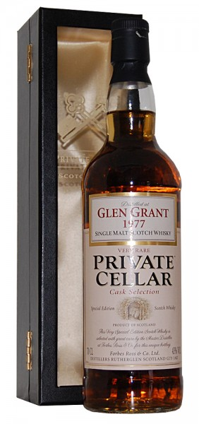 Whisky 1977 Glen Grant Single Malt Scotch Whisky