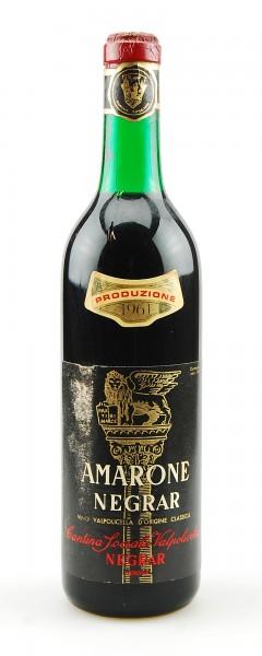 Wein 1961 Amarone Negrar Reciotto della Valpolicella