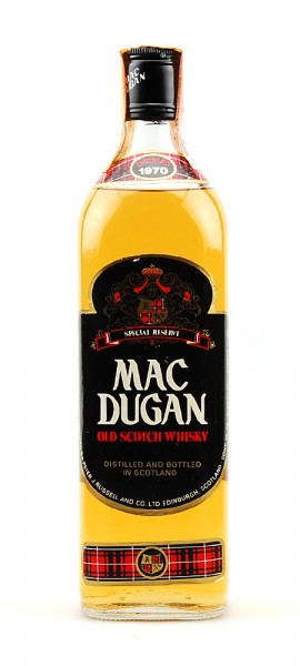 Whisky 1970 Mac Dugan Rare 5 Years Special Reserve