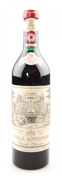 Wein 1960 Chianti Classico Villa Antinori