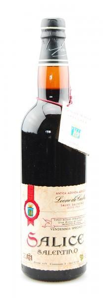 Wein 1966 Salice Leone de Castris Straveccio Salentino