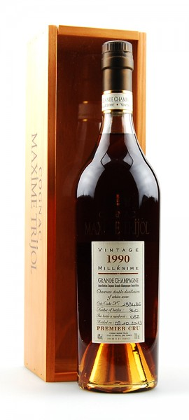 Cognac 1990 Maxime Trijol Grande Champage