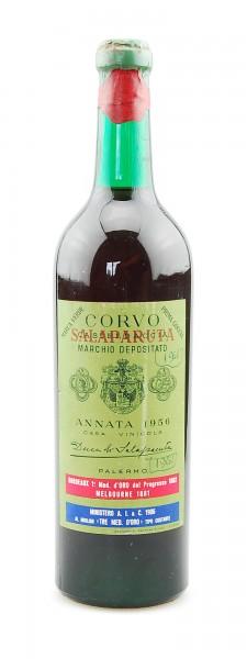 Wein 1956 Corvo Salapurata Marchio Depositato