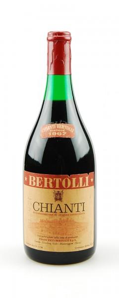 Wein 1967 Chianti Francesco Bertolli
