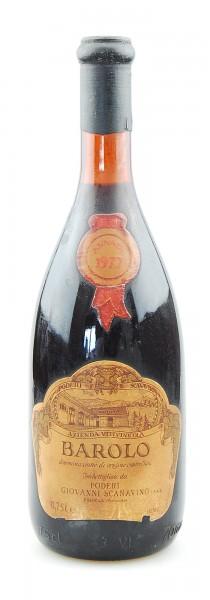 Wein 1977 Barolo Scanavino