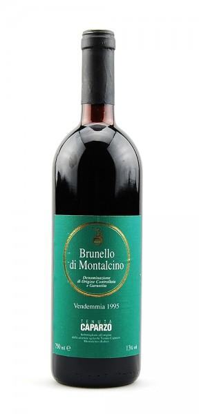 Wein 1995 Brunello di Montalcino Caparzo