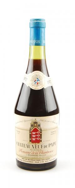 Wein 1972 Chateauneuf-du-Pape Domaine de la Chartreuse