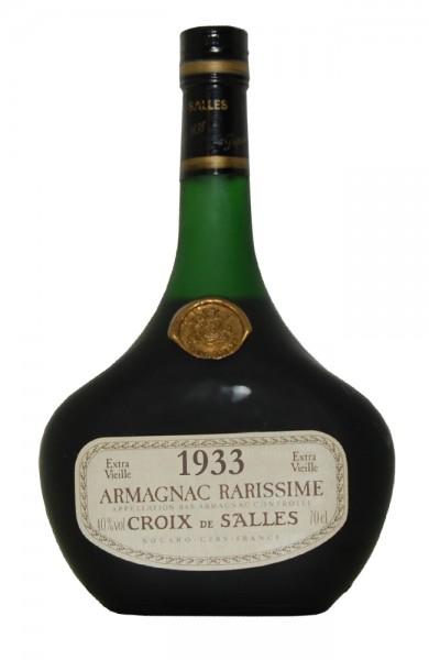 Armagnac 1933 Croix de Salles