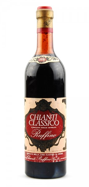 Wein 1970 Chianti Classico Ruffino