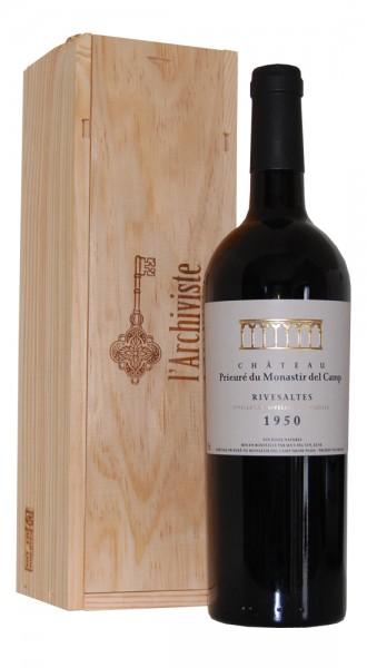 Wein 1950 Rivesaltes Chateau Prieuré du Monastir