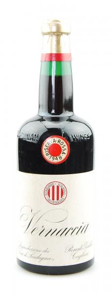Wein 1948 Vernaccia Riserva Rossa Renato Zedda